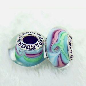 Pandora pair of Rainbow River Muranos.